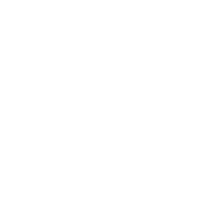 Neos logo with hands white